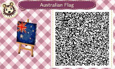 Drapeau australien ACNH