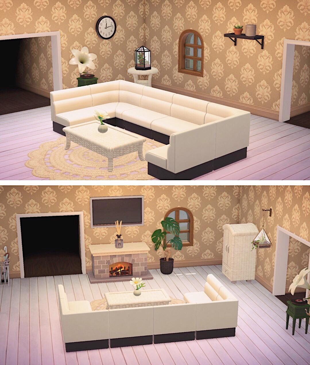 Animal Crossing New Horizons Living Designs 3