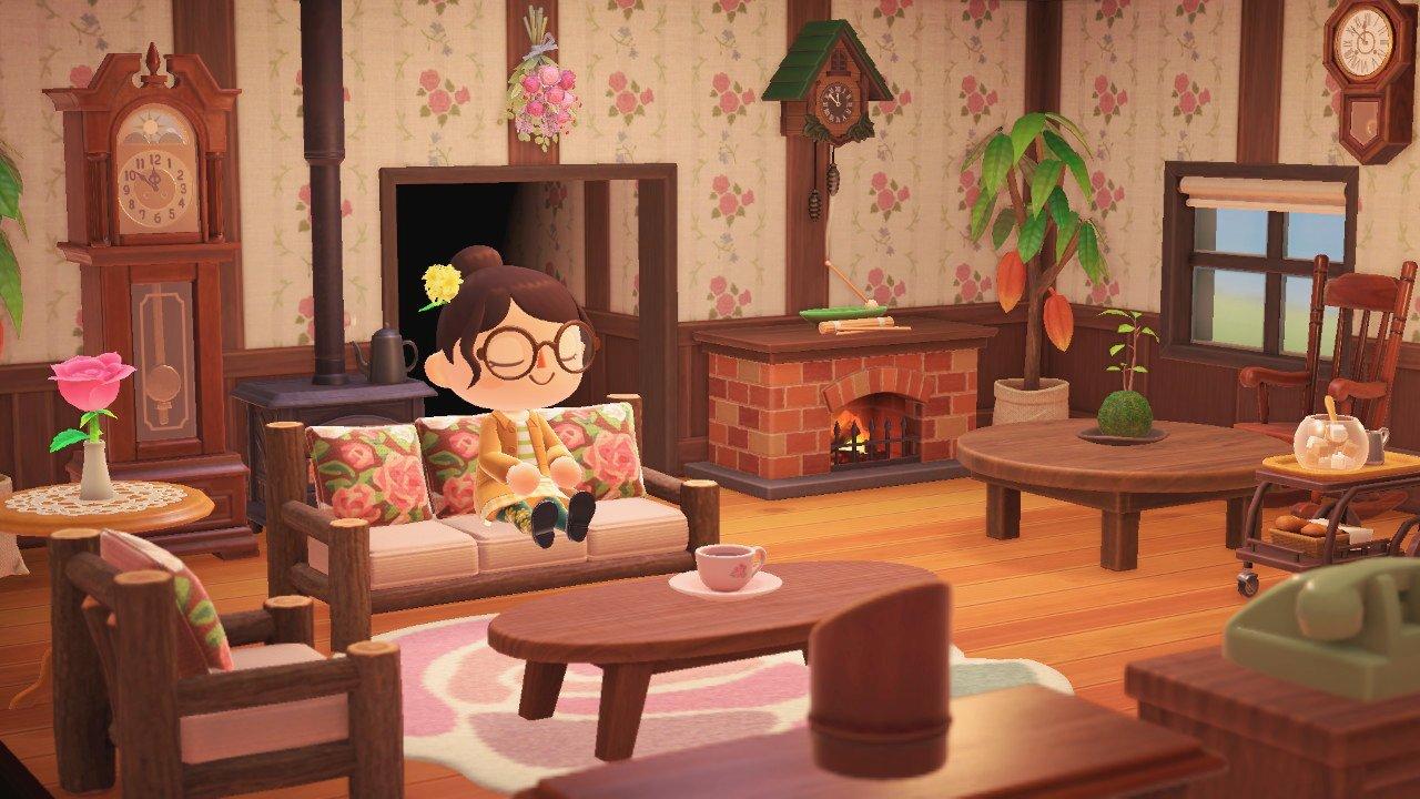 Animal Crossing New Horizons Living Designs 5
