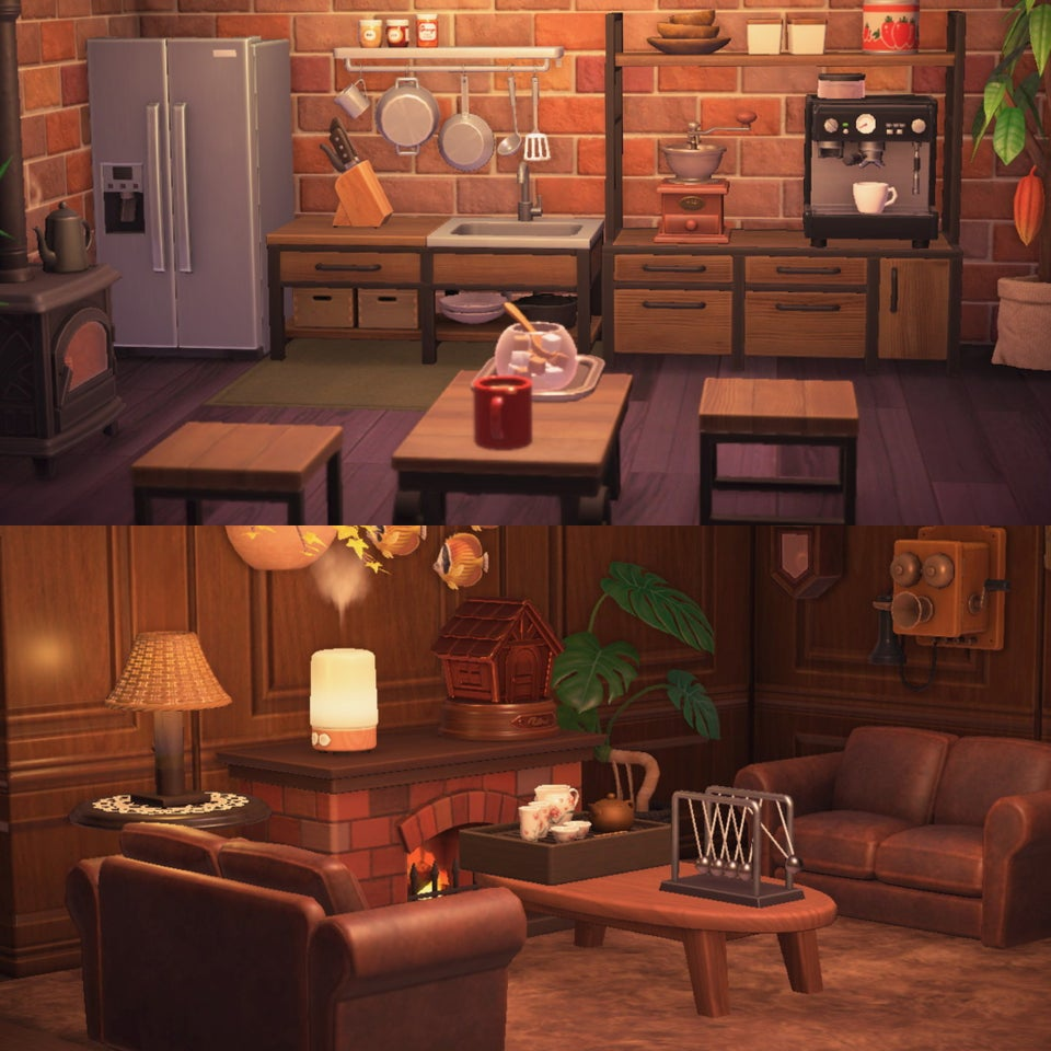 Animal Crossing New Horizons Living Room Designs Ironwood