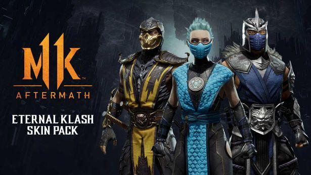 Pack de skin Mortal Kombat 11 Eternal Klash