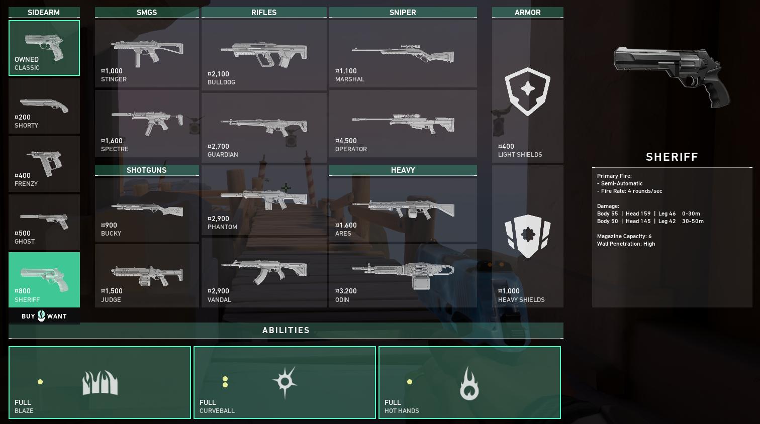 Meilleurs pistolets valeureux - Shérif