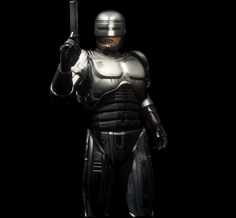 Mortal Kombat 11 Aftermath personnages Robocop