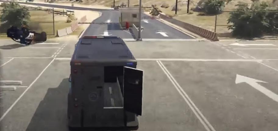 GTA Online Heist Guide Prison Break - Voiture blindée