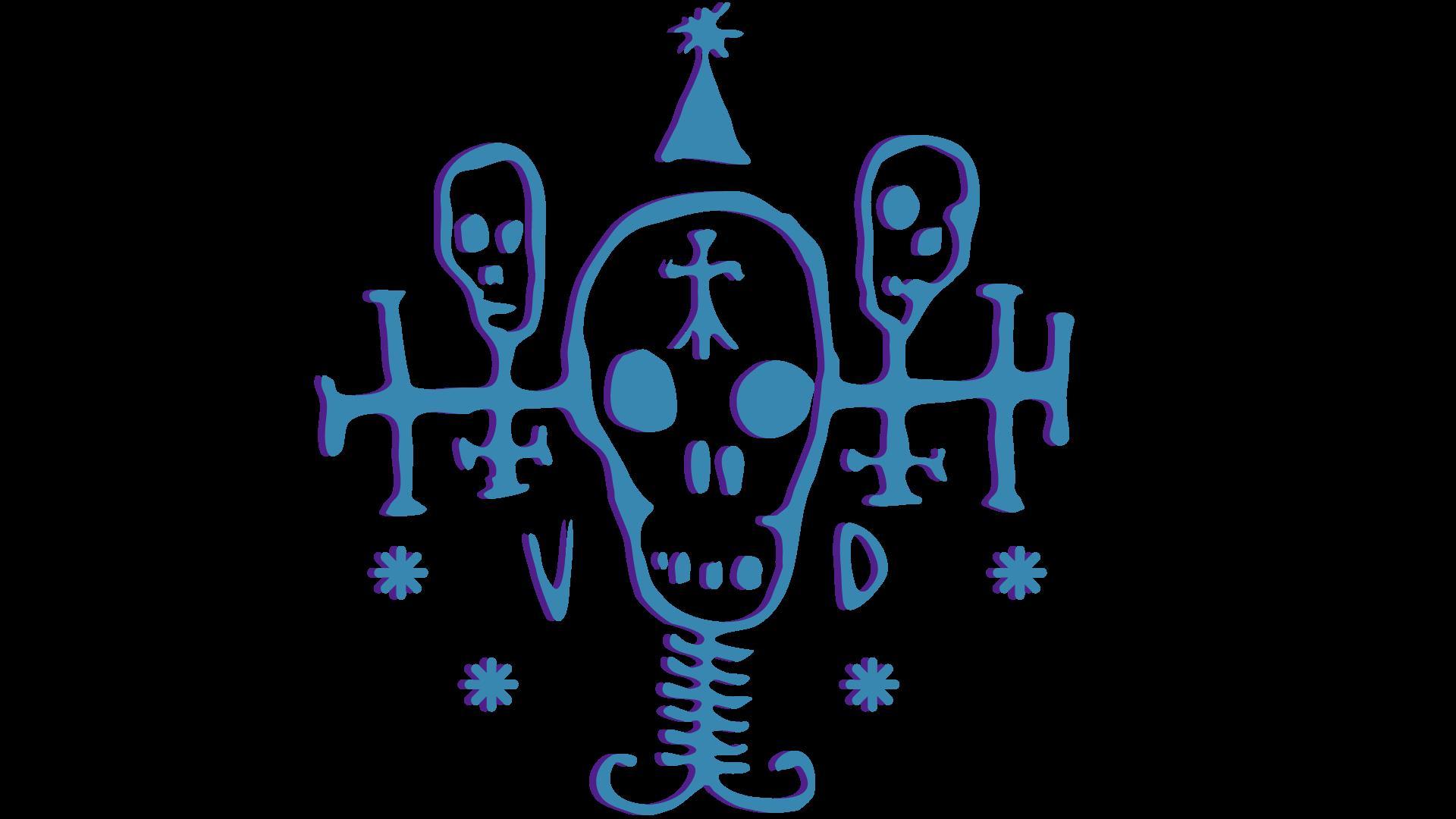 Logos de gangs Cyberpunk 2077 - Voodoo Boys