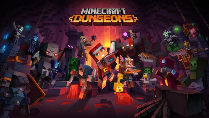 La taille du fichier Minecraft Dungeons est minuscule sur PC, Xbox One et Nintendo Switch