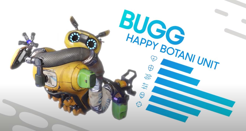 Personnages et capacités du creuset - Bugg