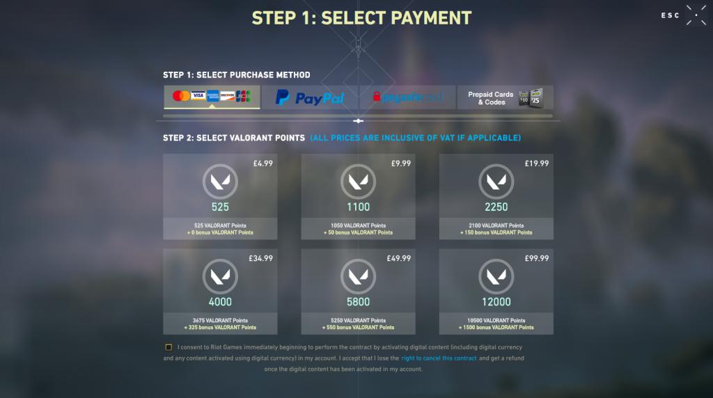 Valorant points bonus credit end of beta fermé 28 mai