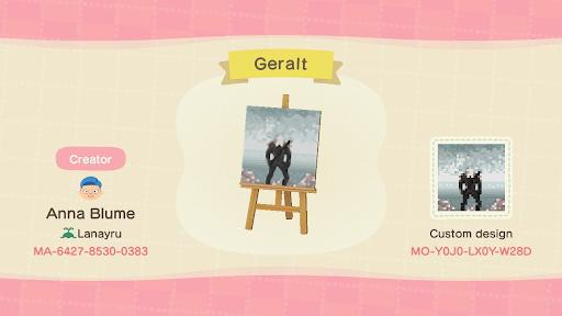 Traversée d'animaux de Geralt