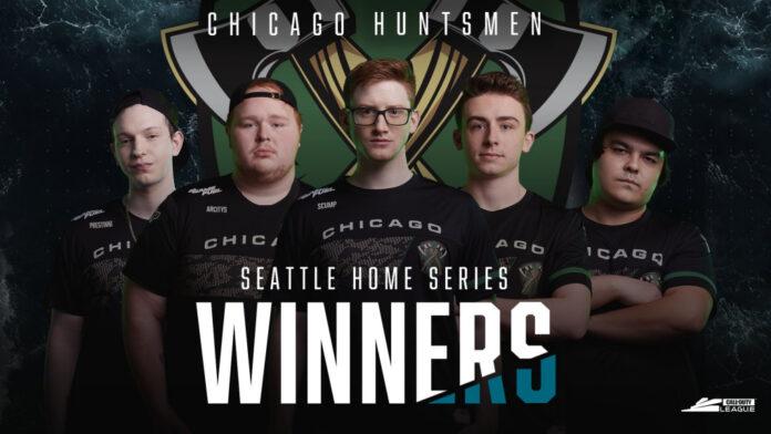 Les Huntsmen de Chicago ont battu les Royal Ravens de Londres pour une deuxième victoire à domicile dans une bataille de jumeaux
