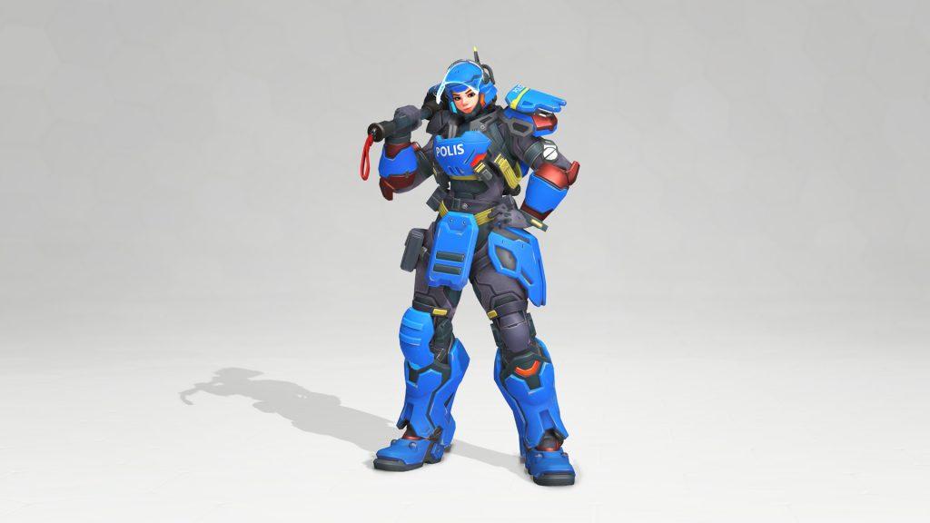 Riot Police Brigitte Overwatch Anniversary les meilleurs skins Overwatch que vous pouvez obtenir