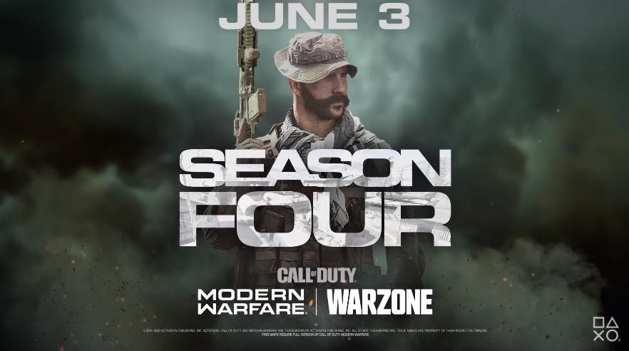Modern Warfare Season 4 Date de sortie de la saison 4 de Warzone