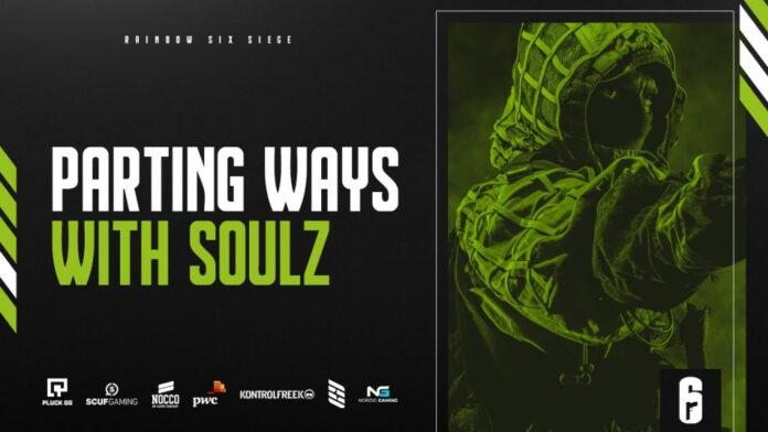 Soulz quitte Team Singularity, deux nouveaux joueurs rejoignent la formation Rainbow Six Siege