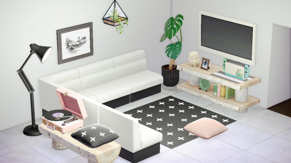 Animal Crossing New Horizons Living Room Designs 1
