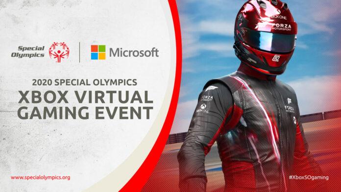 Annonce de l'événement de jeu virtuel Xbox Special Olympics 2020