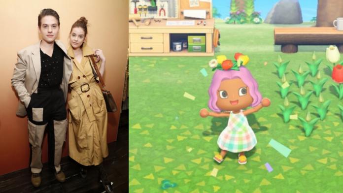 Animal Crossing Barbara Palvin Dylan Sprouse animal crossing celebrity animal crossing
