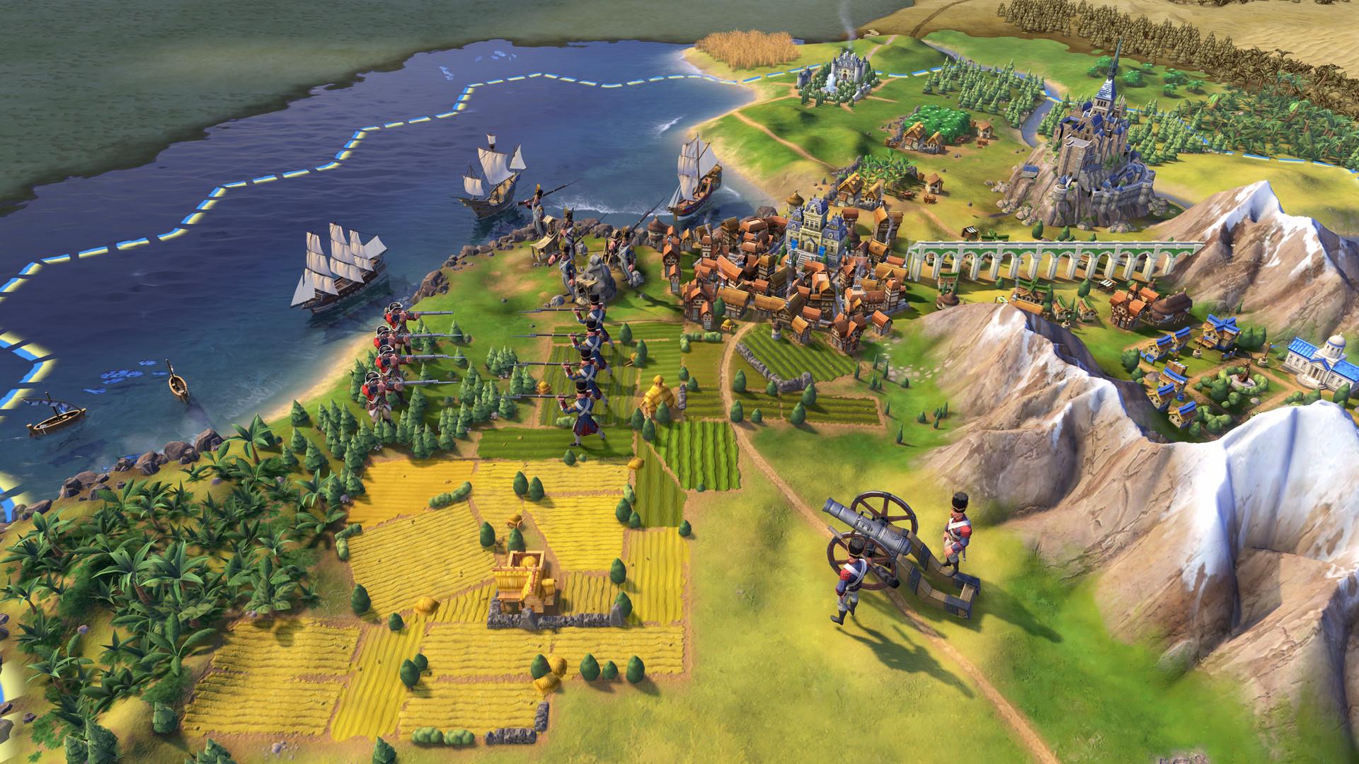 Civilization 6 est gratuit sur Epic Games Store