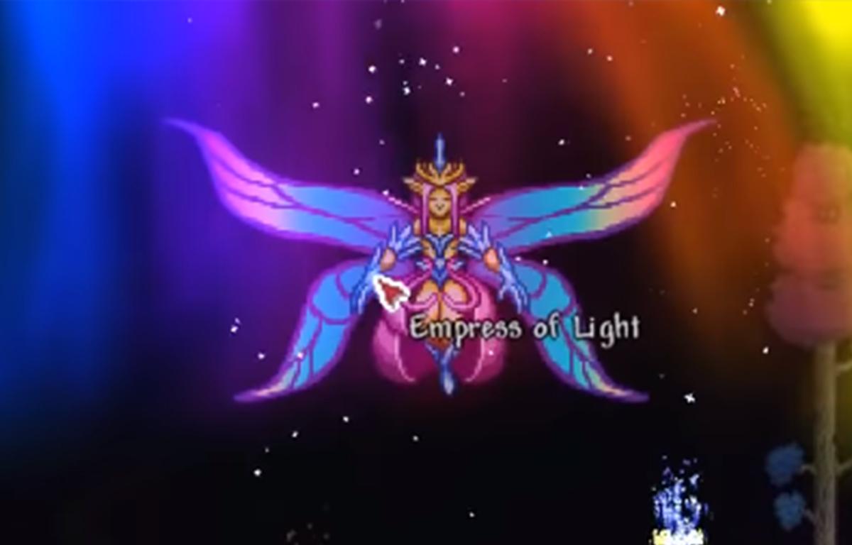 Comment trouver l'impératrice de lumière à Terraria