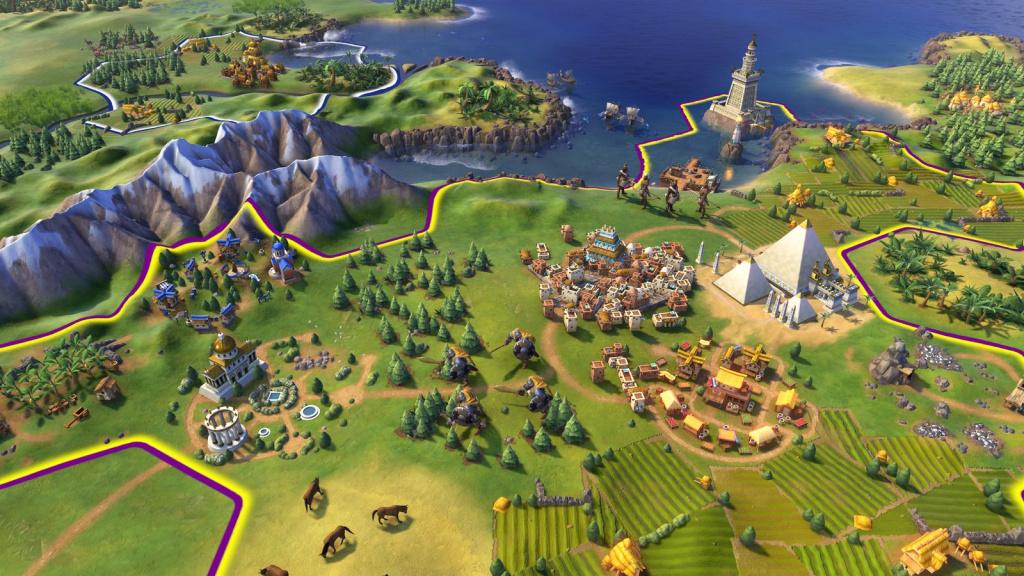 Magasin épique gratuit de Civilization VI