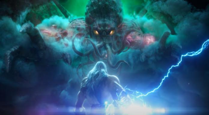 Cthulhu de Lovecraft arrive à Smite