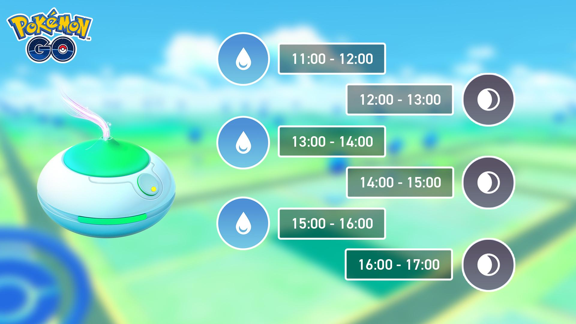 Événement Pokemon Go Incense Day 17 mai