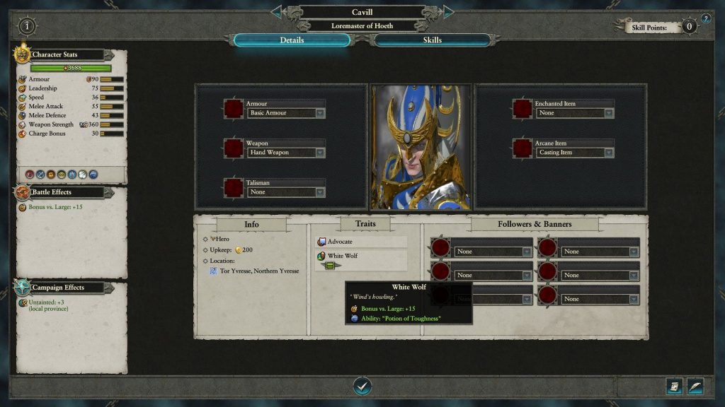 Henry Cavill Total War Warhammer 2
