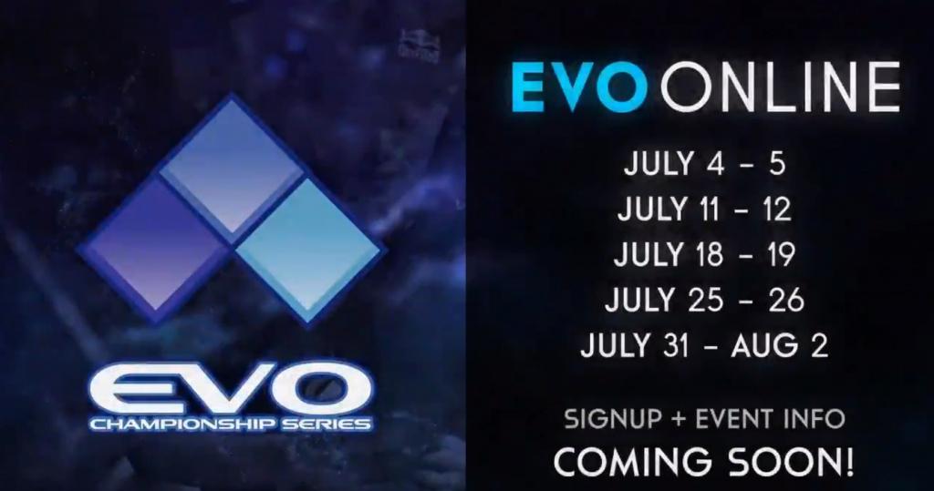 EVO Online alignements dates tournois FGC