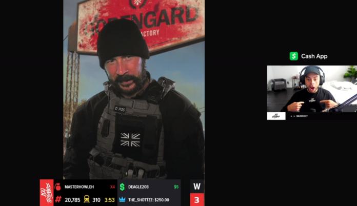 Le capitaine Price a envoyé des messages personnels à Nadeshot et Timthetatman pour promouvoir Call of Duty: Modern Warfare Saison 4
