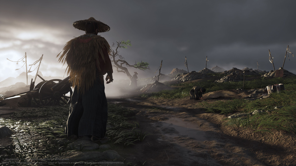 Taille du fichier Ghost of Tsushima Sucker Punch Sony