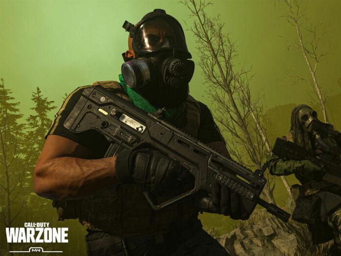 Le joueur de Call of Duty Warzone envoie les masques à gaz à la victoire