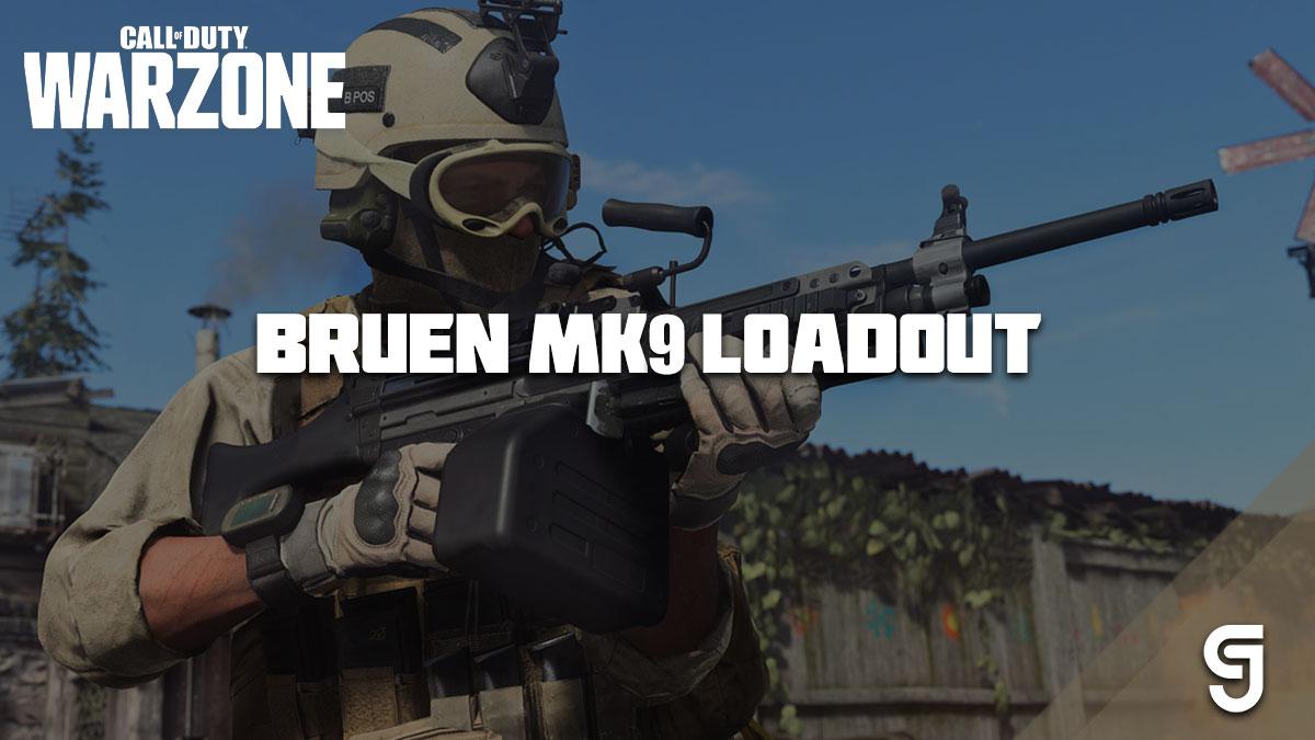 Meilleur chargement Bruen MK9 Warzone