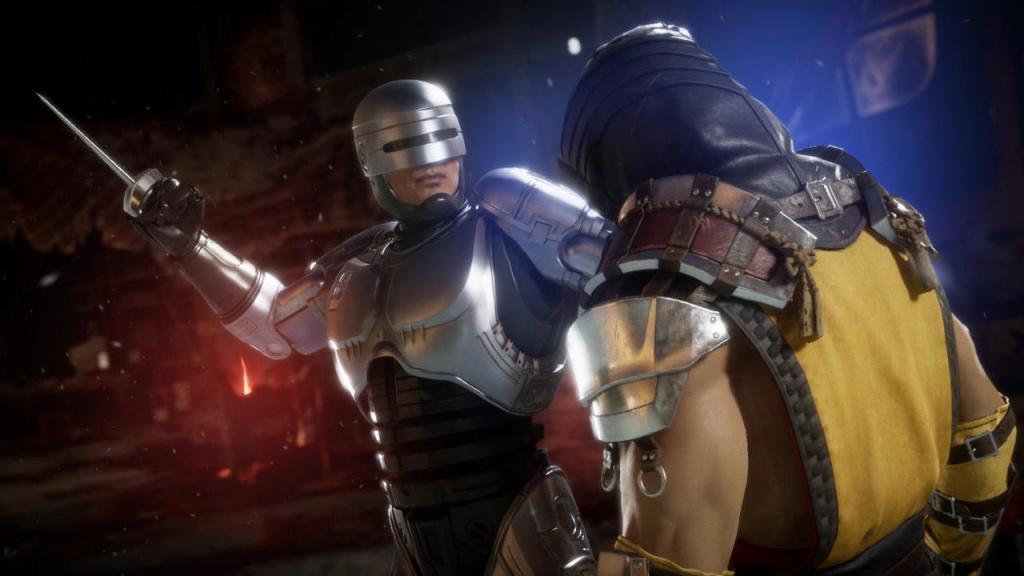 Mortal Kombat 11 Aftermath Robocop