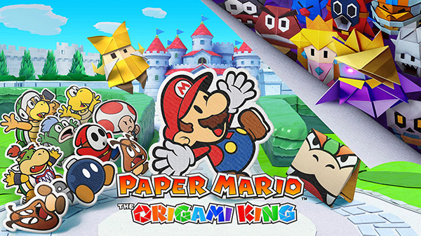 Paper Mario: The Origami King annoncé, à venir sur Switch en juillet