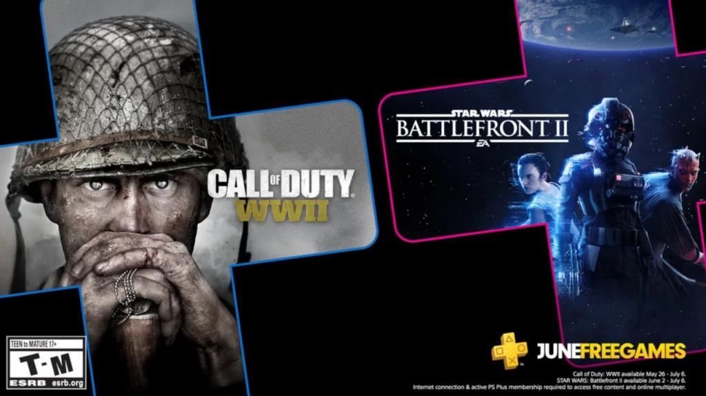Jeux Xbox PlayStation Plus June avec jeux gratuits Gold June