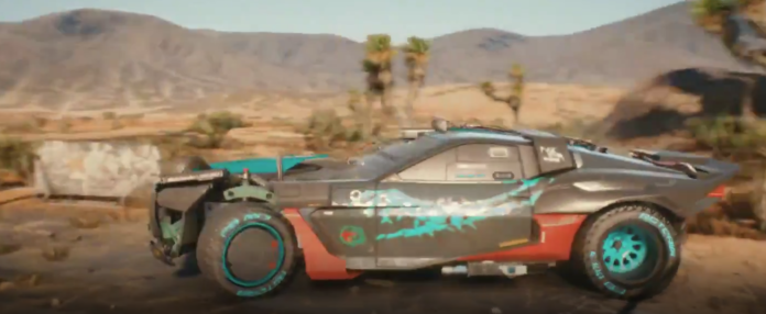 First look at the Cyberpunk 2077 Reaver, a Wraith Gang Vehicle