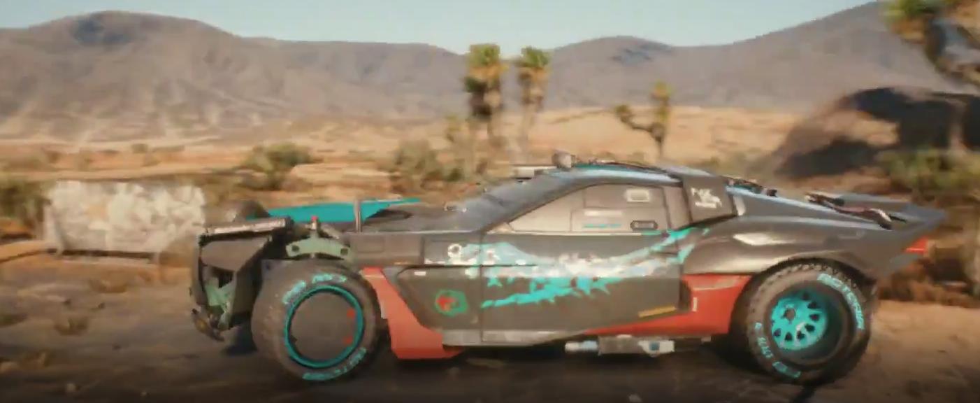 Premier regard sur le Cyberpunk 2077 Reaver, un véhicule de gang Wraith