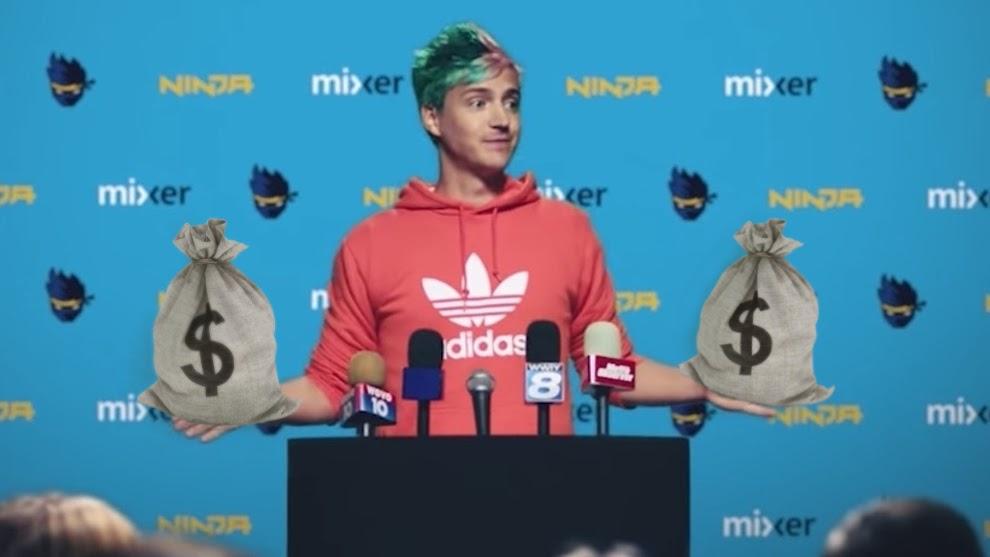 Ninja YouTube, Ninja en streaming YouTube