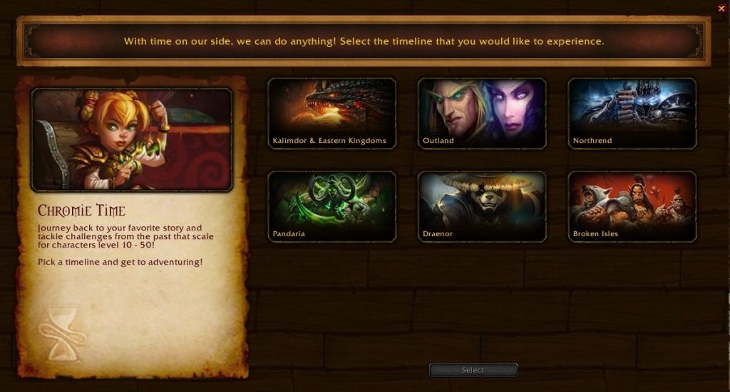 Mise à niveau de World of Warcraft: Shadowlands