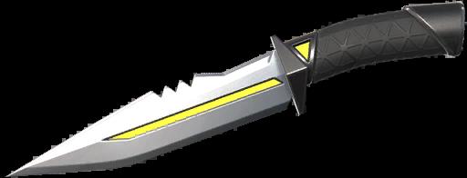 Disponible au niveau 50 couteau royaume