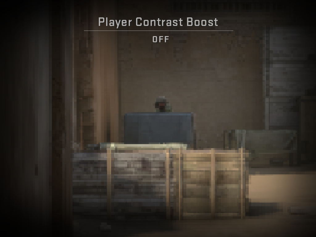 Boost Player Contrast CS: GO 10 mise à jour des notes de patch