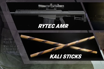 Bâtons Rytec AMR Kali