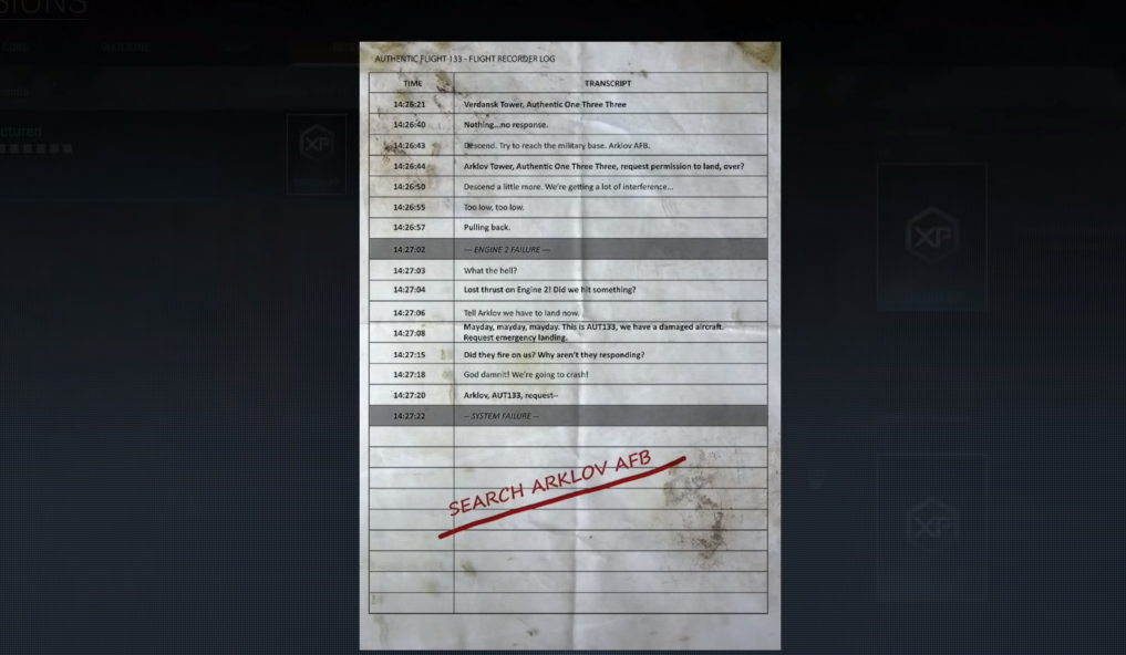 Call of Duty Saison 4 Semaine 1 - Intel 5