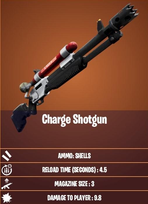 Fusil de charge légendaire