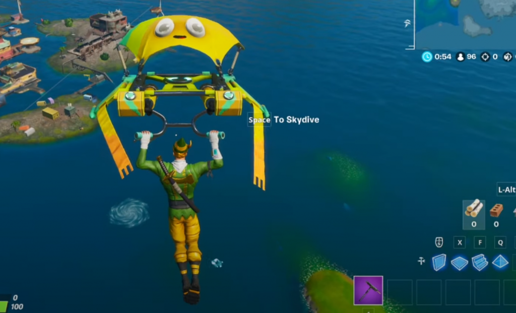 Skin Fortnite Aquaman Challenge Semaine 1