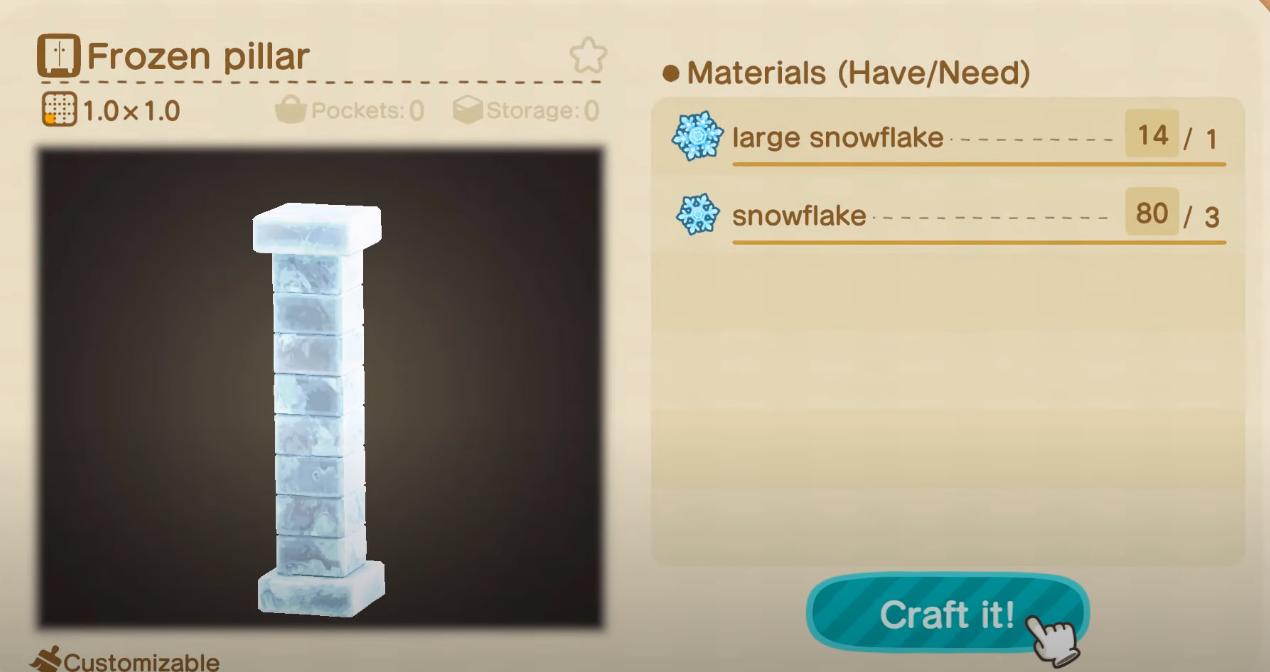 Perfect Snowman DIY Recipes - Frozen Pillar