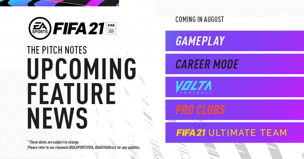 Mise à jour gratuite de la date de sortie de FIFA 21 vers PlayStation 5 et Xbox de nouvelle génération