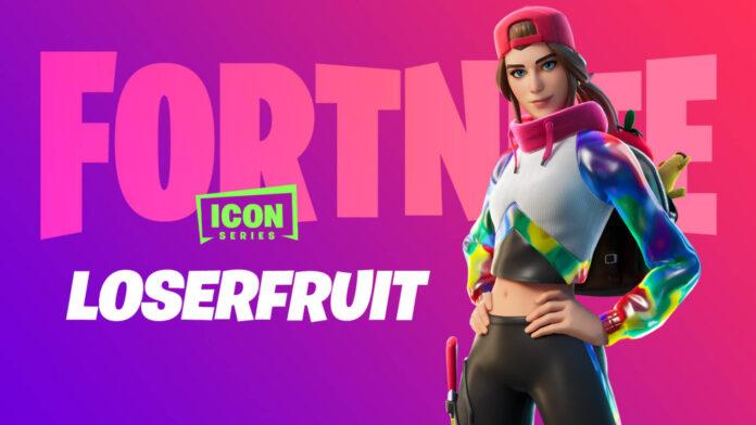 Lancement du pack Loserfruit Fortnite Icon Series - Comment obtenir une remise