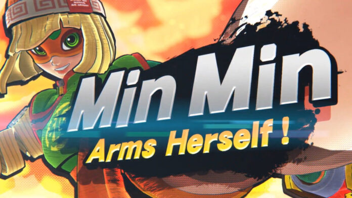 Le personnage d'ARM Min Min rejoint Smash Bros.Ultimate le 30 juin avec Fallout Mii Fighter