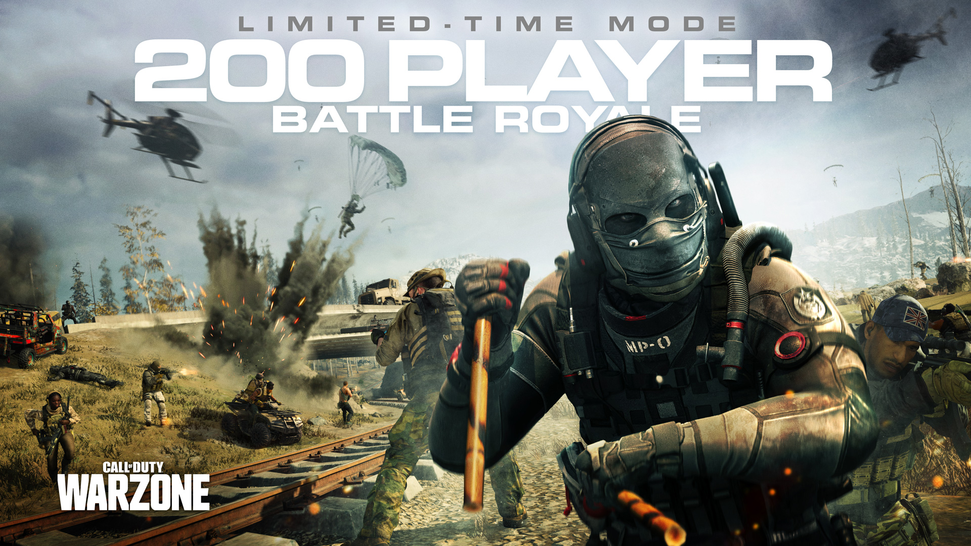 Warzone 200 Player Battle Royale