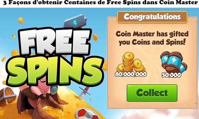 3 Façons d'obtenir Centaines de Free Spins dans Coin Master